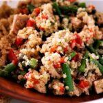 Quinoa and Black Beans