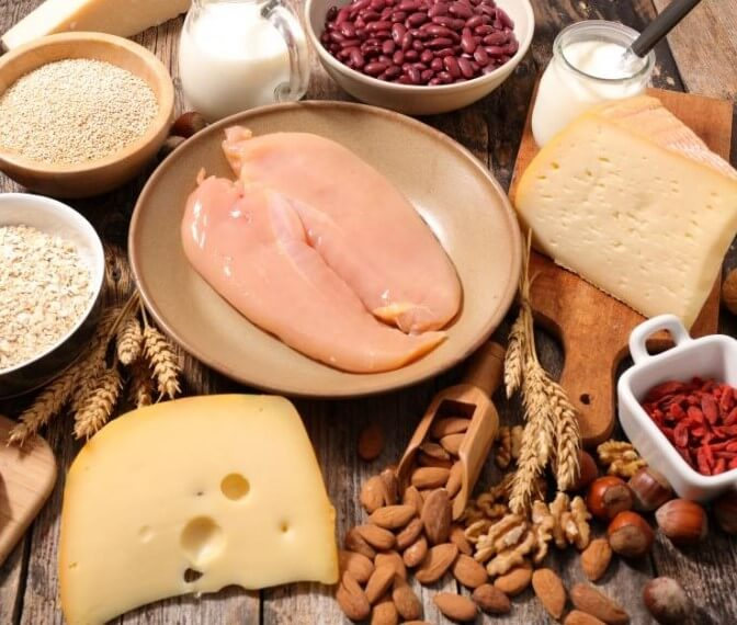 foods high in protein and low in carbs