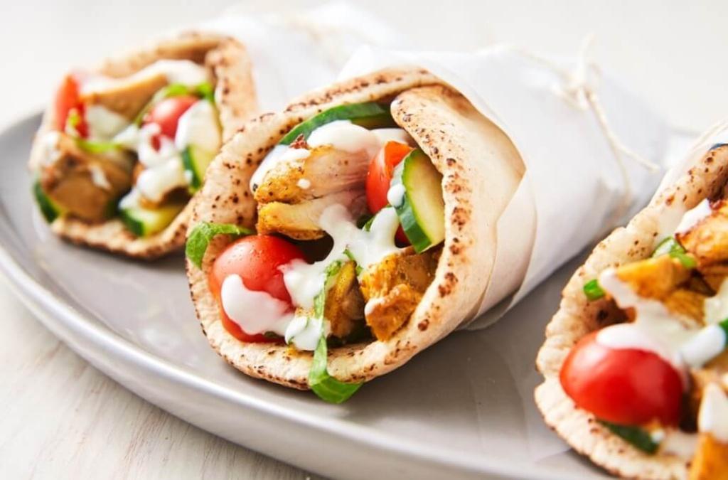 Yogurt-Marinated Chicken Shawarma