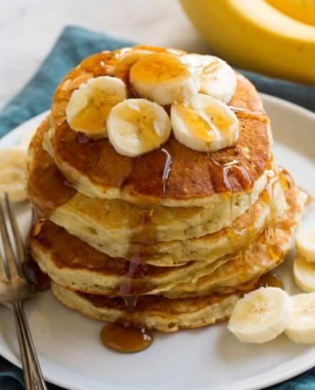 banana pancakes for baby
