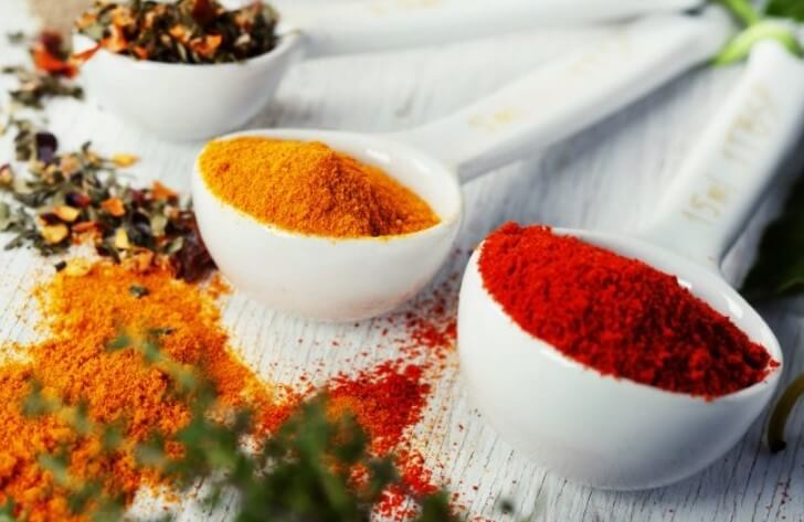 spices for baby