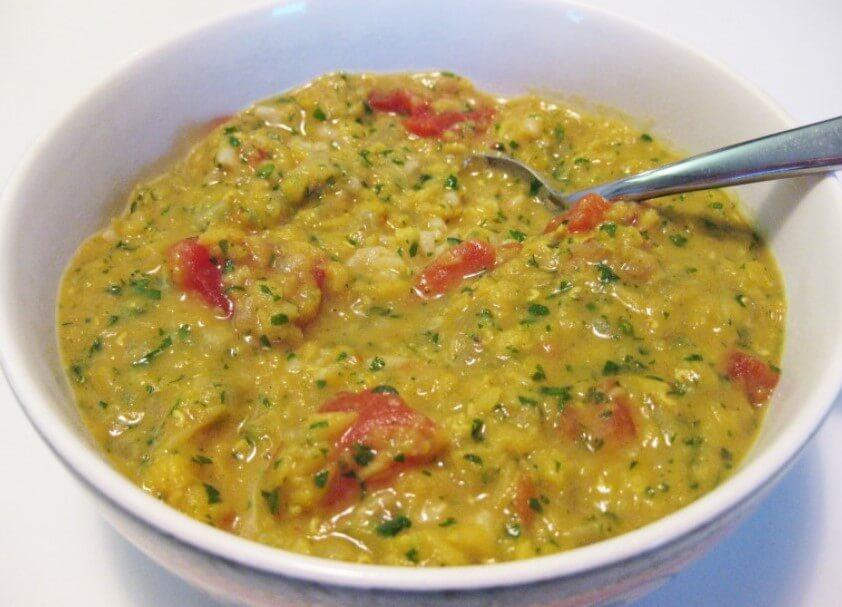 lentil cabbage soup