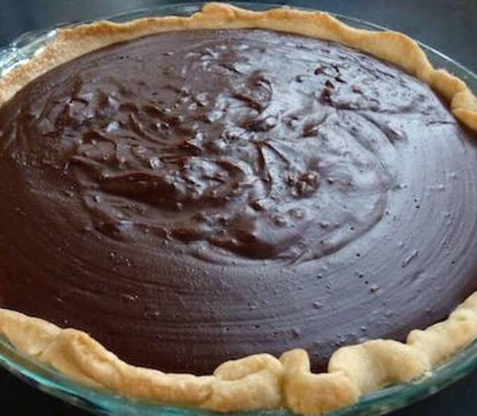 Grandma chocolate pie