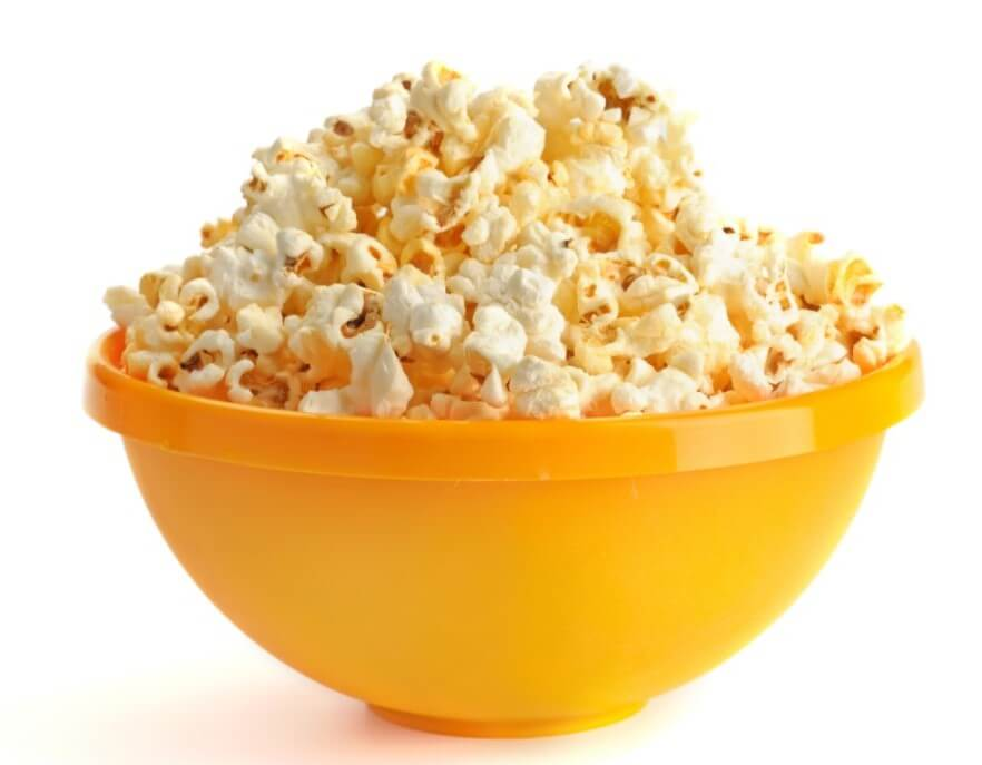 nutritional facts about popcorn