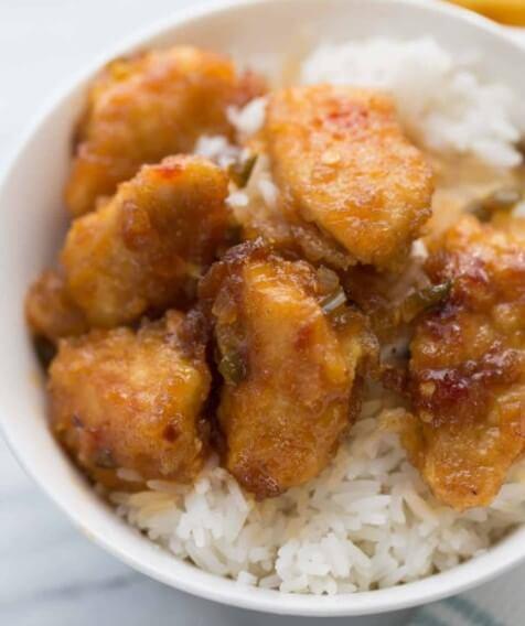 Recipe for sticky chicken