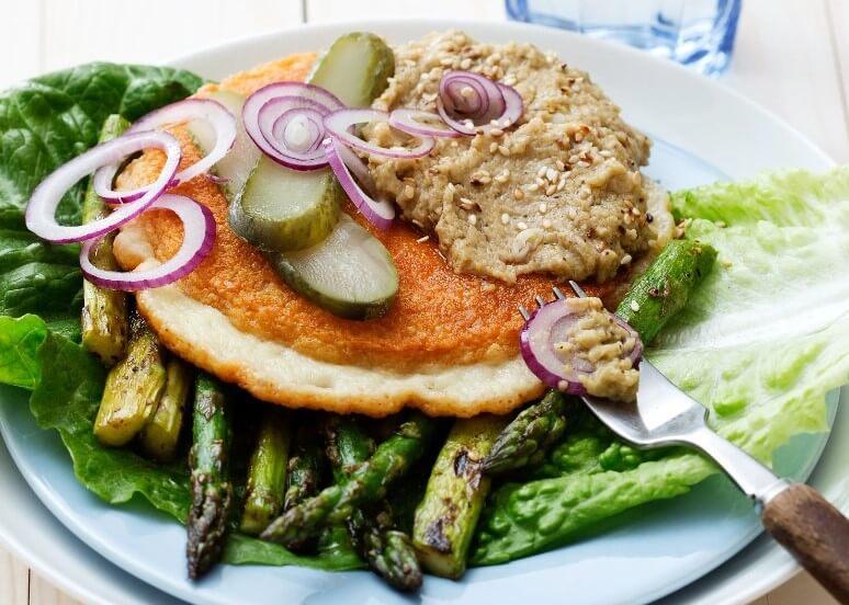 vegetarian low carb recipes