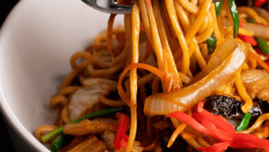 Photo of YAKISOBA – FRIED NOODLES -Ingredients ANMITSU