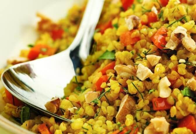What is bulgur?