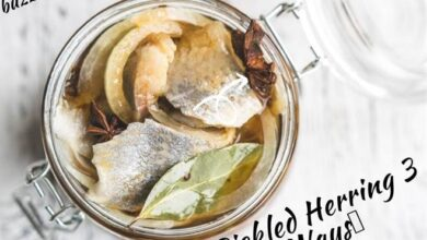 Photo of Pickled Herring 3 Ways