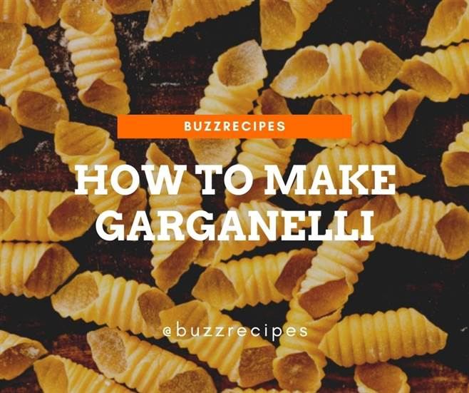 How To Make Garganelli