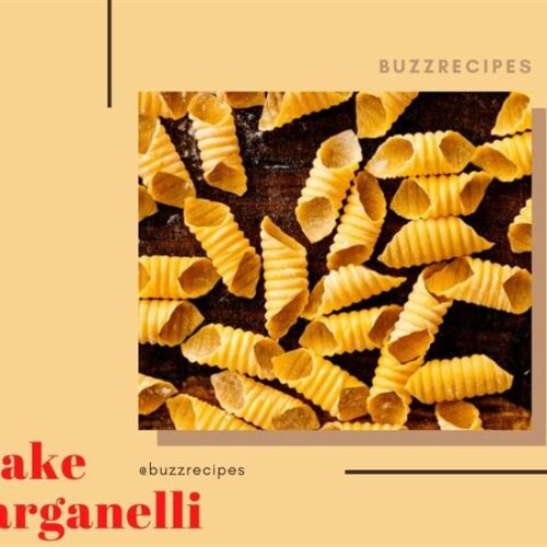 How To Make Garganelli😎😎
