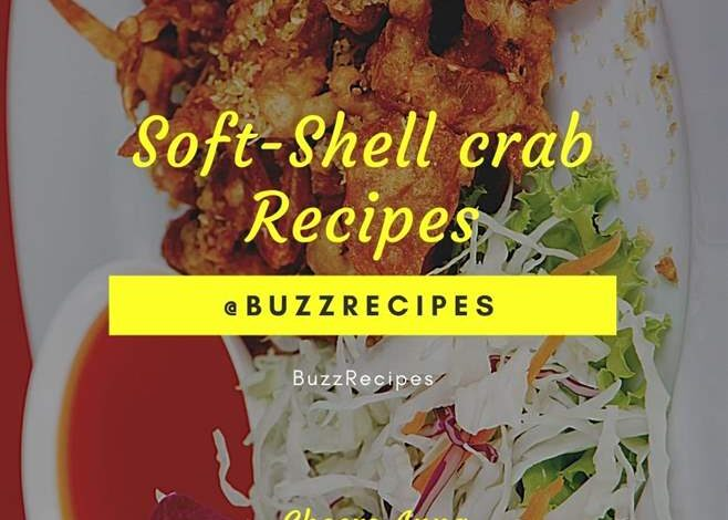 Soft Shell Crab Recipes Fried with Garlic and Pepper