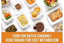 Photo of Batch Cooking Vegetarian FOR Fast Metabolism Diet
