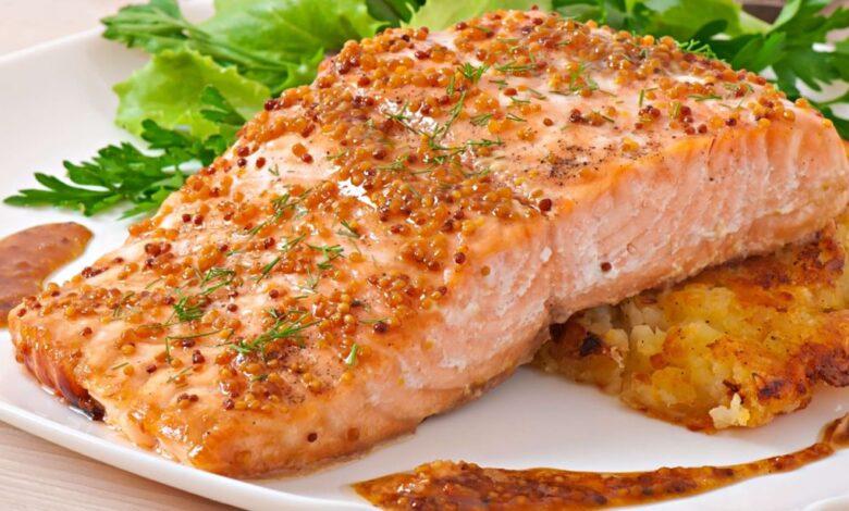 Salmon honey recipes baked